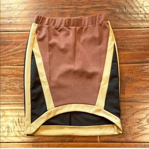 REHAB Asymmetrical Stretchy Skirt